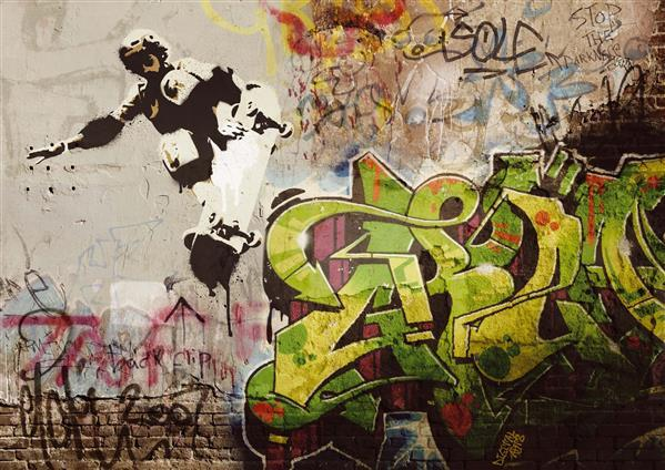 Create graffiti urban art in photoshop
