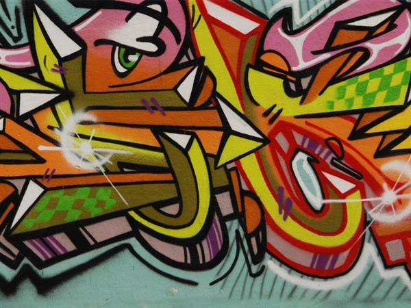 Over 20 Graffiti Textures for Free