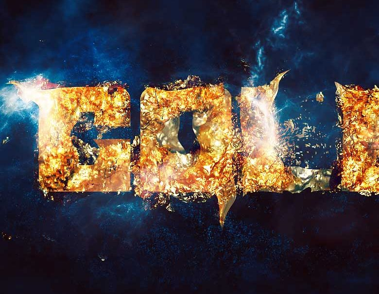 Create A Simple Sparkling Gold Text Effect In Photoshop
