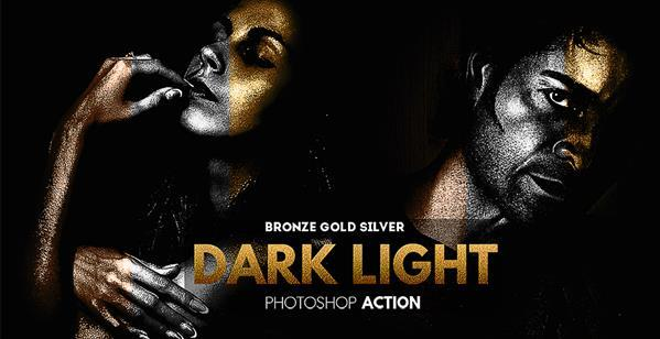 Photoshop Dark Light Photo Effect