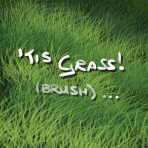 Painting Grass with Photoshop Brush