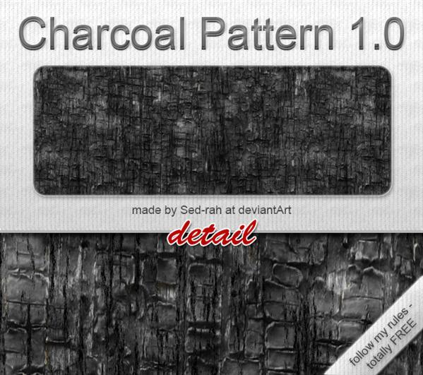 Charcoal Pattern 10 by Sed-rah-Stock photoshop resource collected by psd-dude.com from deviantart