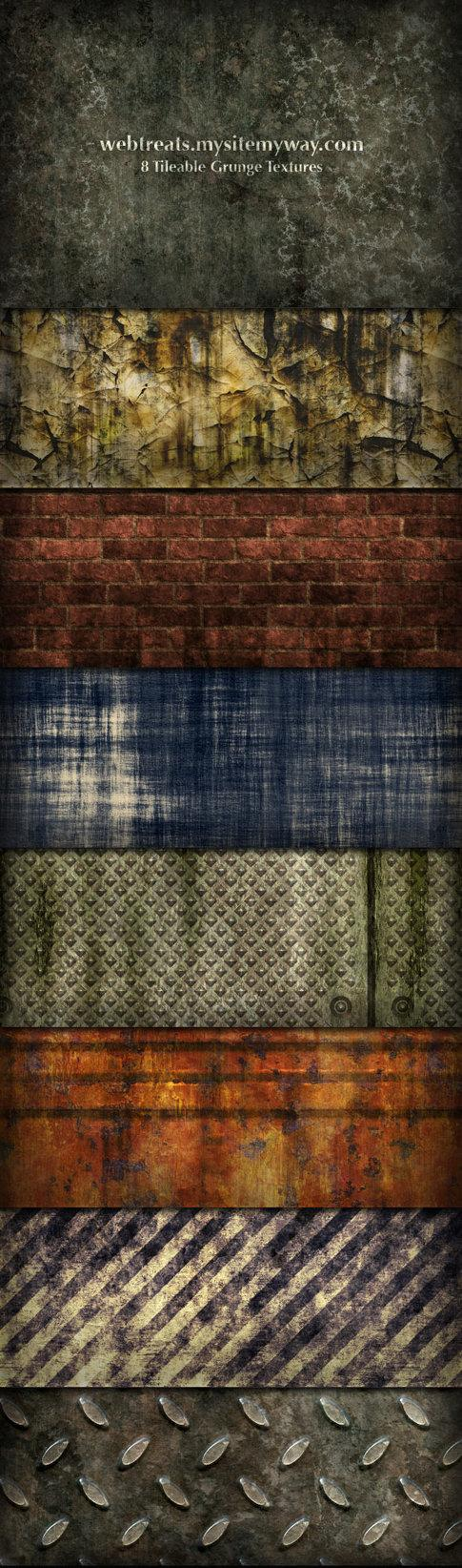 Grunge Textures and Patterns by WebTreatsETC photoshop resource collected by psd-dude.com from deviantart