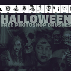 Free Photoshop Horror Brushes For <span class='searchHighlight'>Halloween</span> | PSDDude psd-dude.com Resources