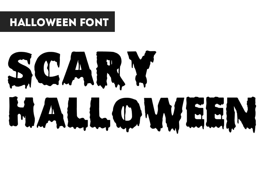 Scary Font