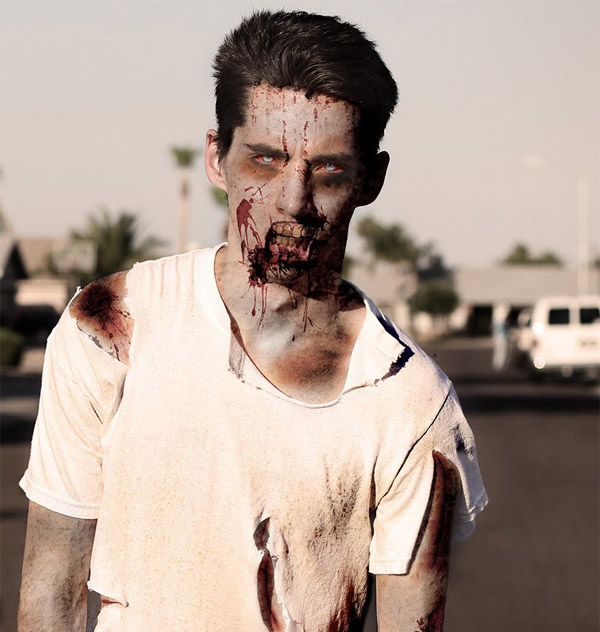 Create a Zombie in Photoshop