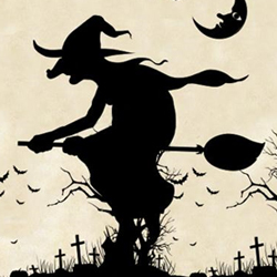 Witches Pumpkins and Other Creepy Halloween Photoshop Brushes psd-dude.com Resources