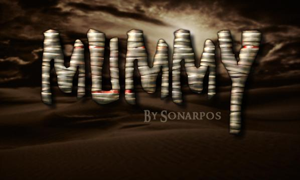 Mummy Photoshop Style for Halloween