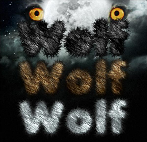 Wolf style by sonarpos photoshop resource collected by psd-dude.com from deviantart