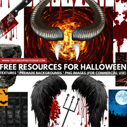 Essential Halloween Resources for Graphic Designers psd-dude.com Resources