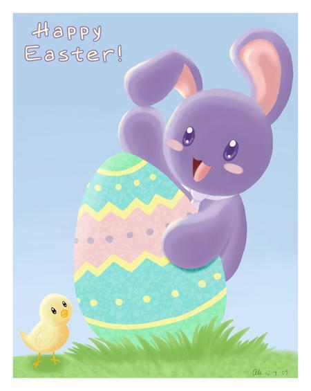 15 Cute easter digital artworks to Inspire You