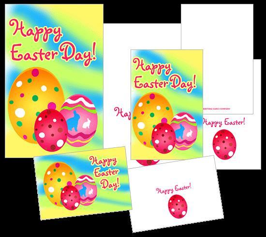 Make a print ready easter greeting card from scratch in Photoshop