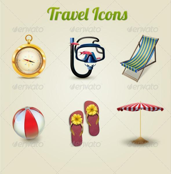 Travel Icons Premium