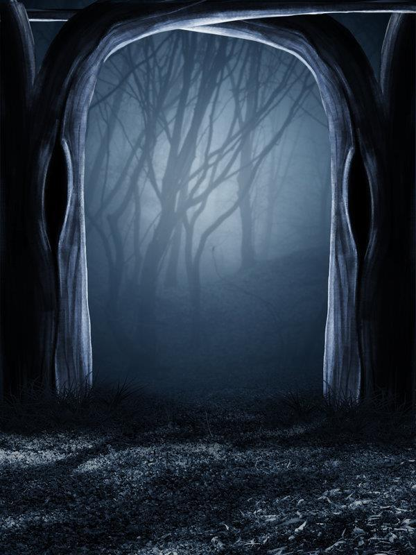 Creepy Forest Premade Background