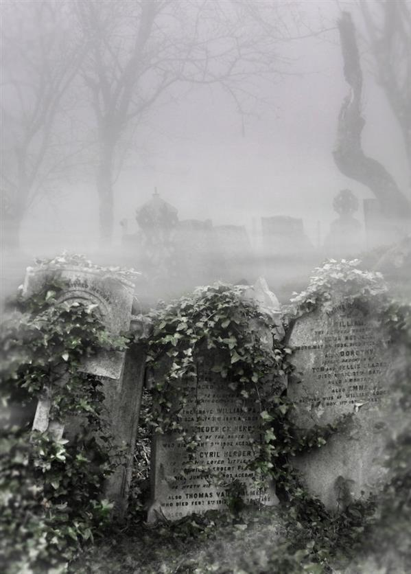 Grave Premade Background Photoshop Manipulation