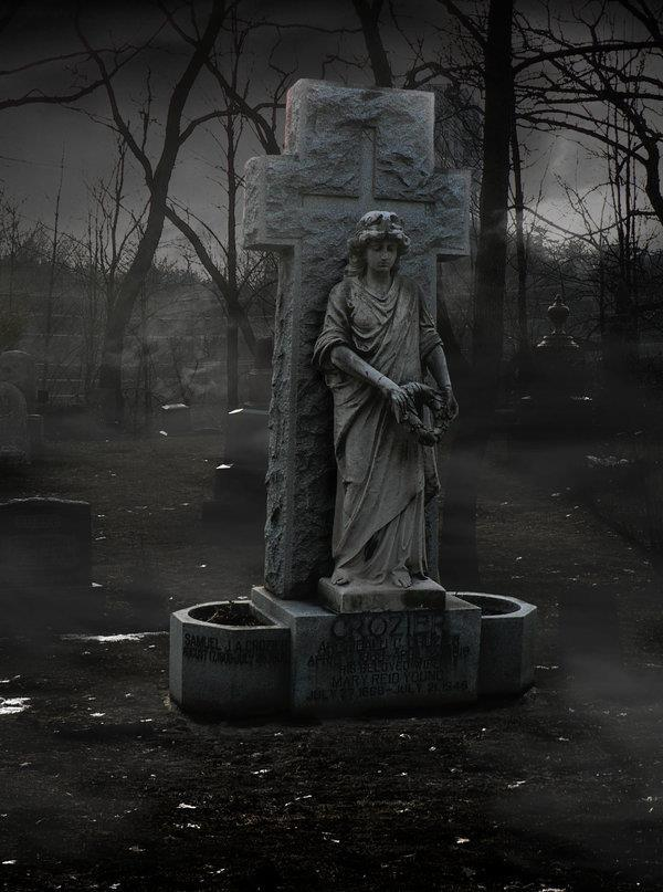 Graveyard Premade Background In Photoshop