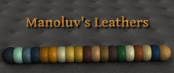 Seamless Leather Texture by manoluv photoshop resource collected by psd-dude.com from deviantart