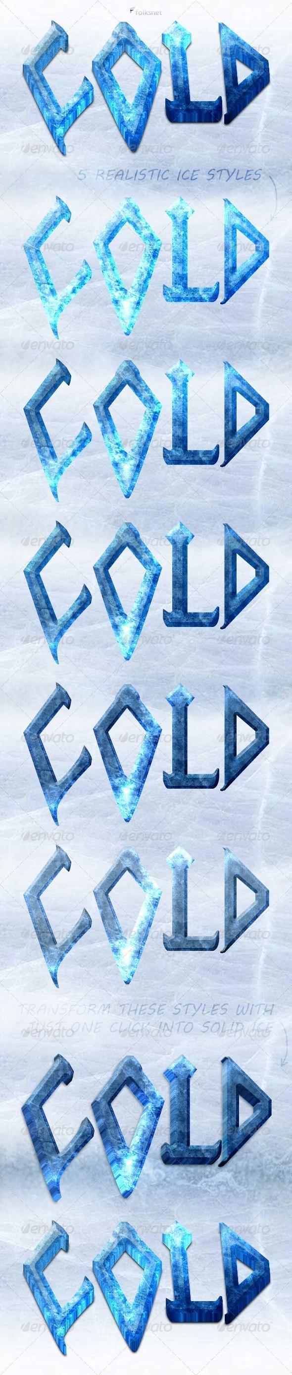 Ice and snow photoshop styles psddude ice styles photoshop baditri Images
