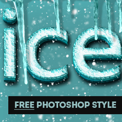 Frozen Ice Photoshop Styles Free Download psd-dude.com Resources