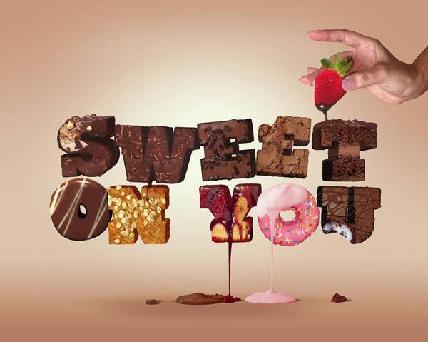 Sweet Desert 3D Typography Photoshop Tutorial - Premium