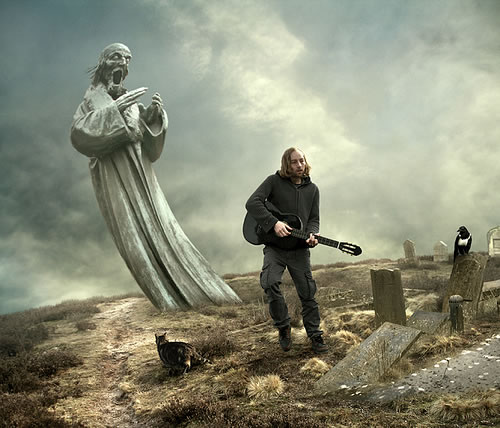 Photoshop photo manipulation by Mattijn Fransen - entertaining the dead