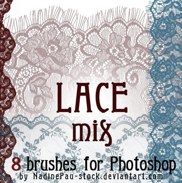 Lace Embroidery Decorative Frames