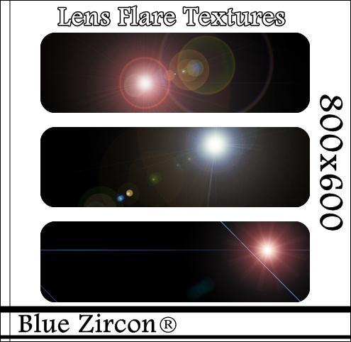 Lens Flare Textures for Photoshop