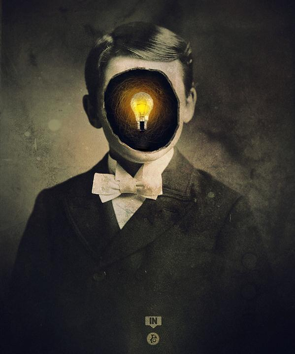 Light Bulb Creative Ming Photo Manipulation