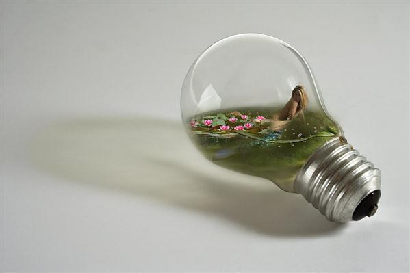 Light Bulb Creative Photo Manipulations