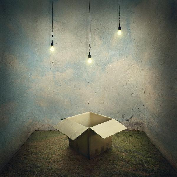 Tales from Light Bulbs and Boxes Photo Manipulation
