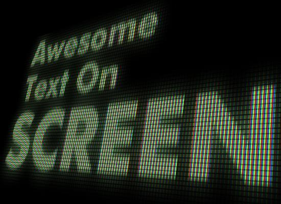 Create a LED Screen Text Effect in Photoshop