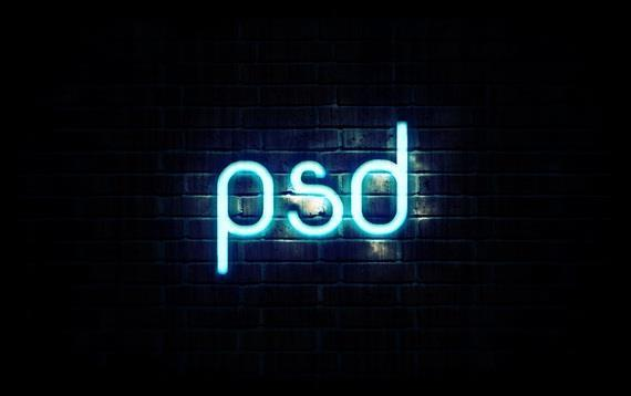 Learn how to create neon text in Photoshop