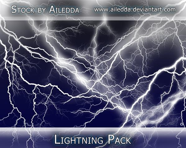Lightning Brushes Pack