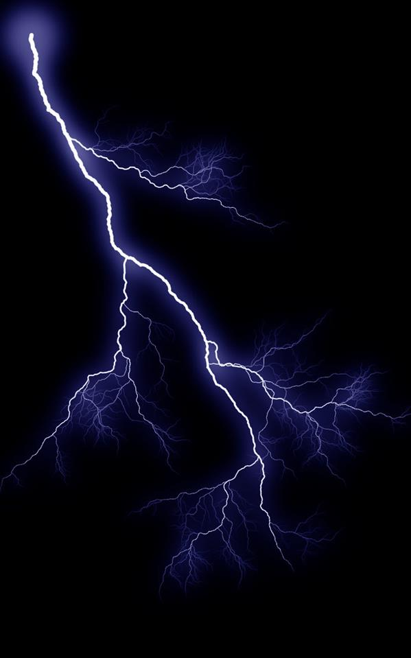 Lightning Graphic 1 by SB-Photography-Stock photoshop resource collected by psd-dude.com from deviantart