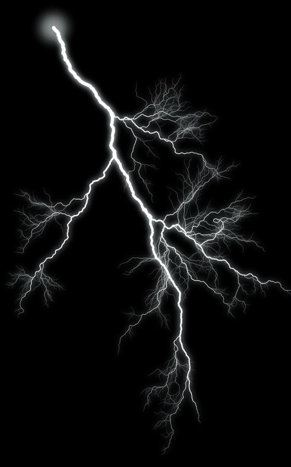 Lightning Graphic 5 by SB-Photography-Stock photoshop resource collected by psd-dude.com from deviantart