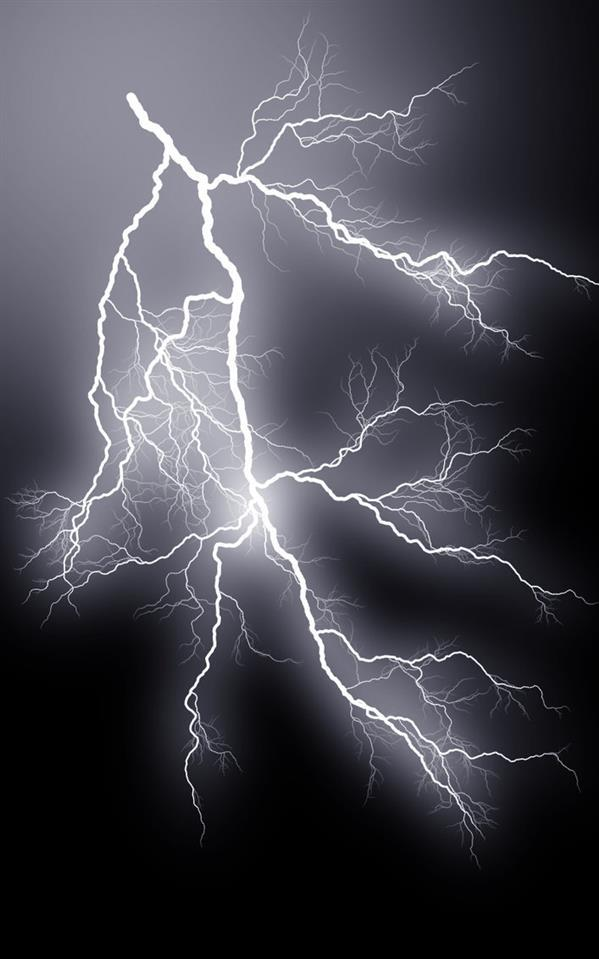 Lightning Strike Background