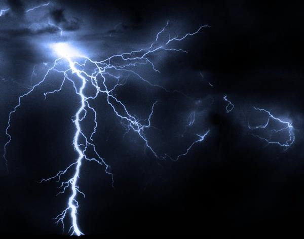 Lightning Texture Background