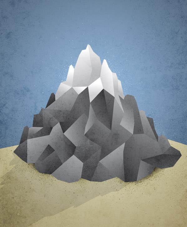Create a Low Poly Art Illustration Poster