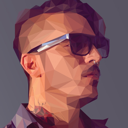 Low Poly Geometric Photoshop and Illustrator Tutorials psd-dude.com Resources