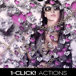 Luxury Photos With Sparkle Diamonds Using Photoshop Actions psd-dude.com Resources