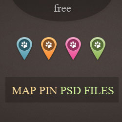 Map Pin PSD Free Download psd-dude.com Resources