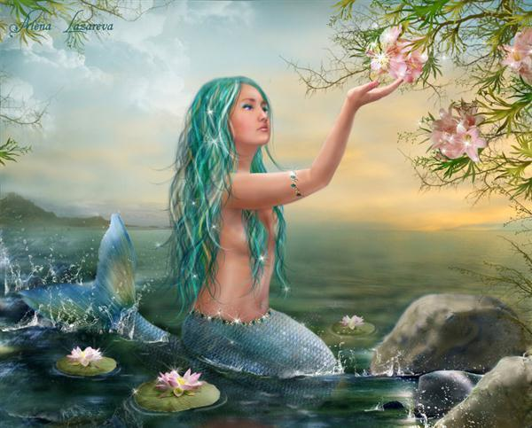 A Mermaids Wish Photo Manipulation