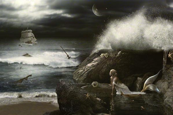 Lorelei Siren Song Photo Manipulation