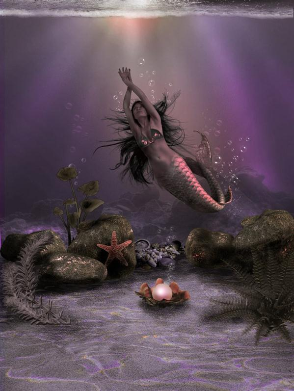 Mermaid Of Posion Cove Photo Manipulation