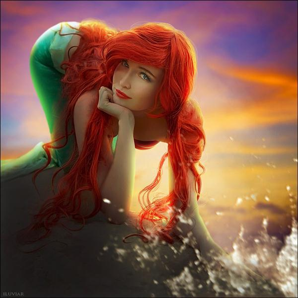 The Little Mermaid Ariel Photo Manipulation