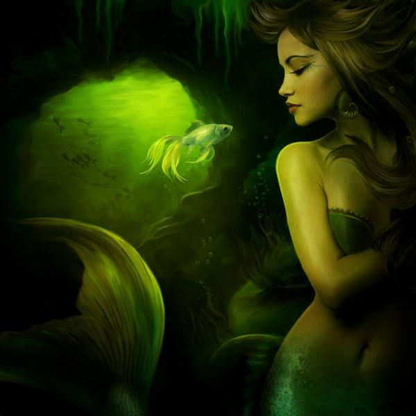 The Mermaid Photo Manipulation
