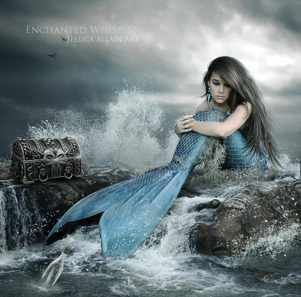 The Siren Message Photo Manipulation