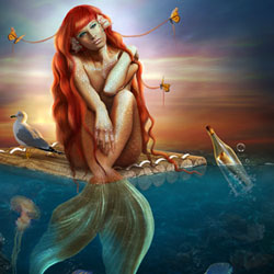 Mermaid and Siren Photoshop Manipulations psd-dude.com Resources