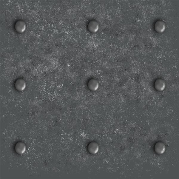 Metal Floor Texture with Bolts