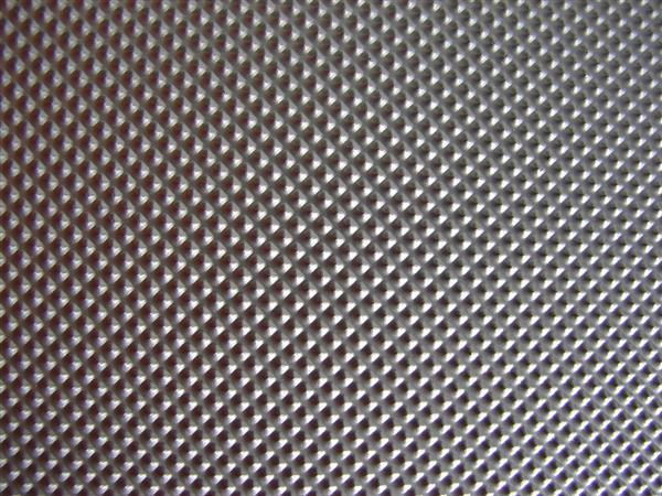 Metal Surface Texture with Pattern